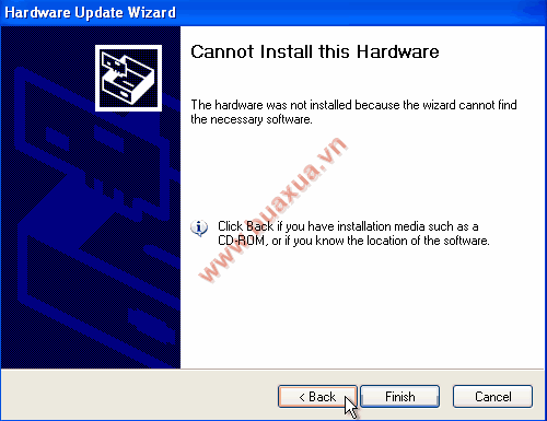 Cannot Install this Hardware