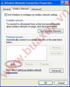 wireless network add