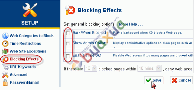Blocking Effects