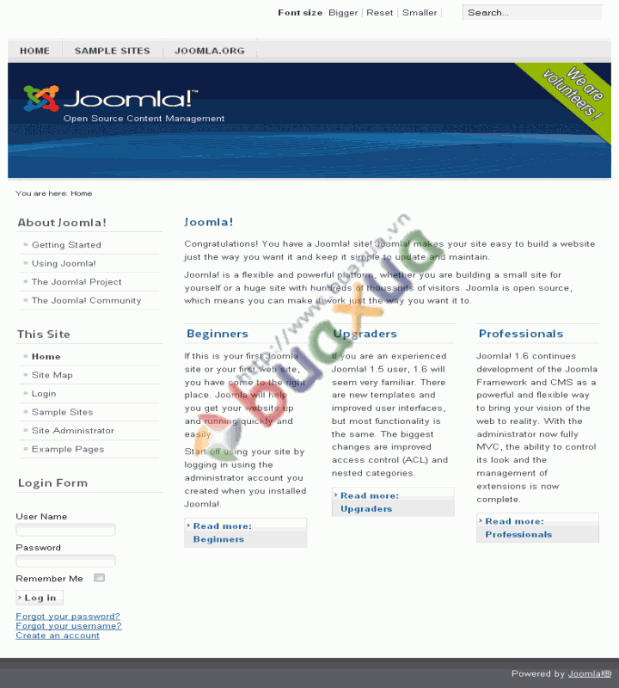 joomla_1.6_frontpage_sample